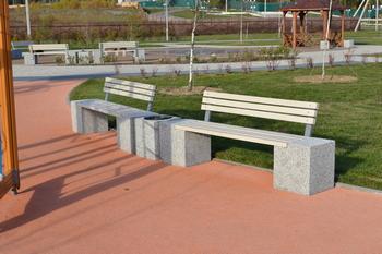 Скамейки из бетона