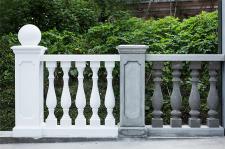 Балясина из бетона. Конструкция, форма, размер