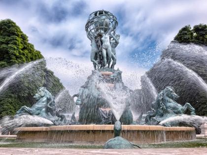 Изготовление скульптур для фонтанов