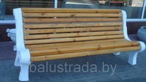Лавка без деревянных брусьев — Л 101
